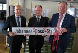 JBO boss Heinz Boss gets his own street for his 80th birthday